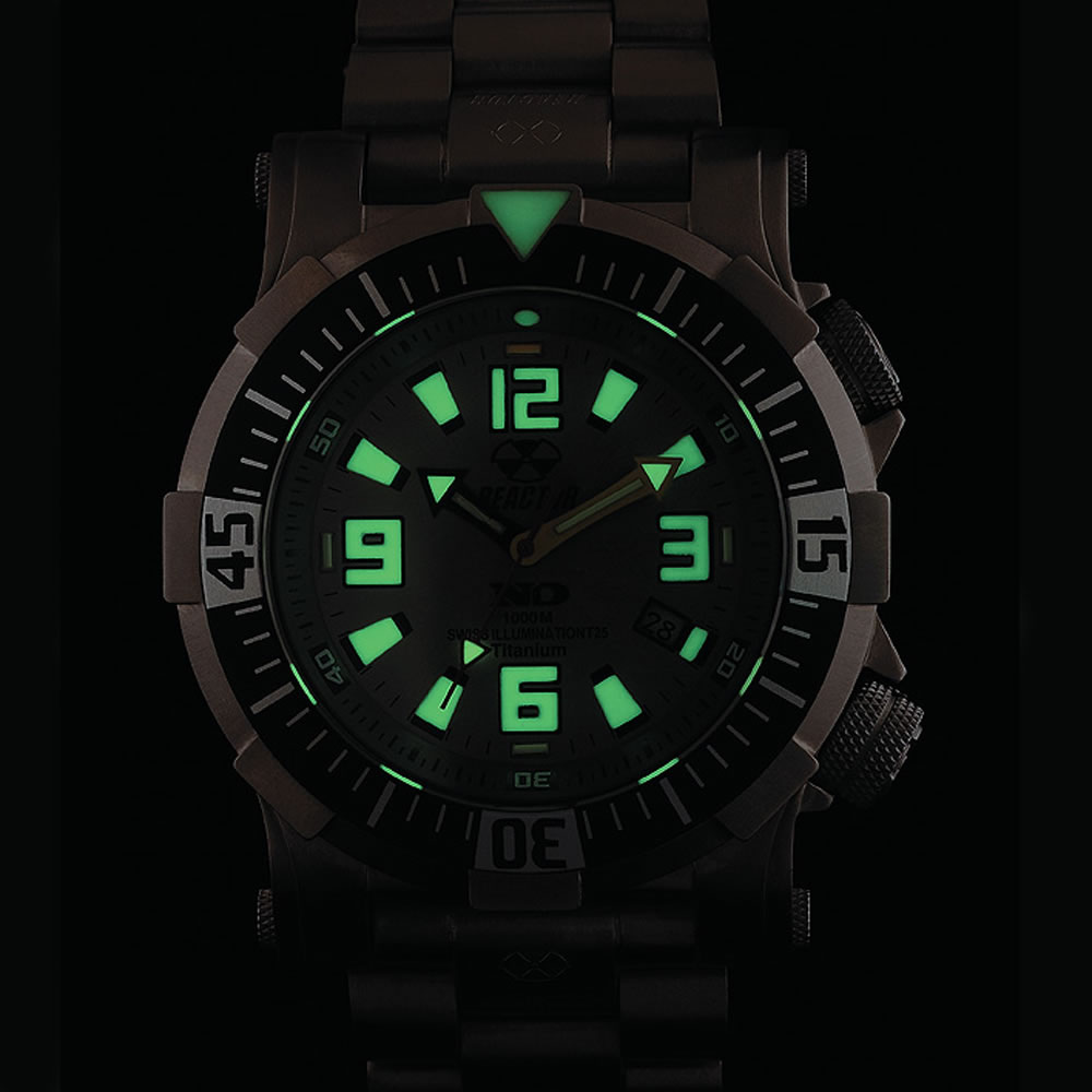 The Professional Diver's Titanium Watch 5