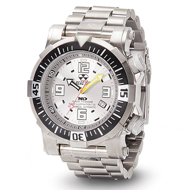 The Professional Diver's Titanium Watch.