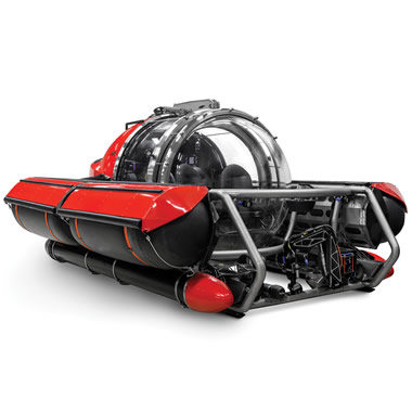 The Five Person Exploration Submarine.
