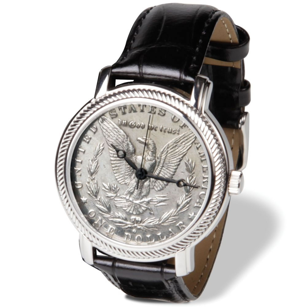 The Genuine Morgan Silver Dollar Watch 1