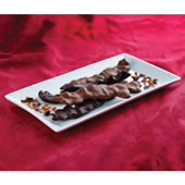 Marini's Hand Dipped Chocolate Bacon.