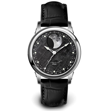 The Genuine Meteorite Watch.