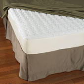 The Continuously Cooling Mattress Pad (King).