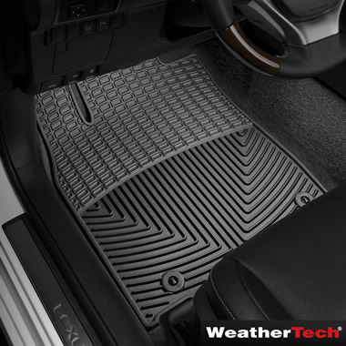 The WeatherTech Laser Fit Auto Floor Mats (Front And Back)