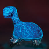 The Bioluminescent Dinosaur.