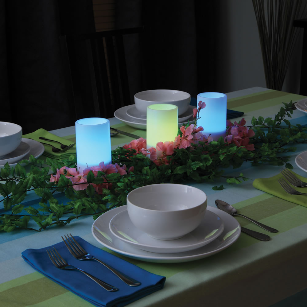 The Decor Matching Flameless Candles4