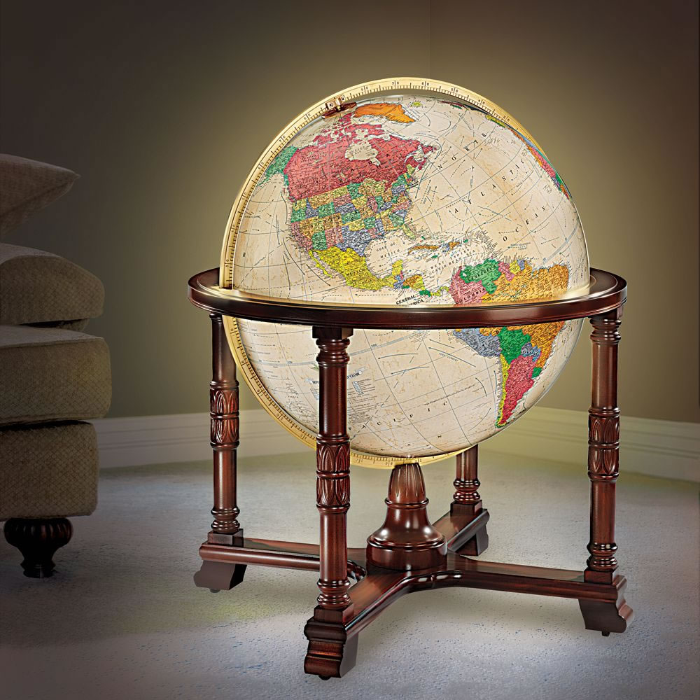 The World's Most Detailed Globe 1