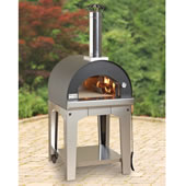 The Rapid Heating Wood Burning Pizza Oven.