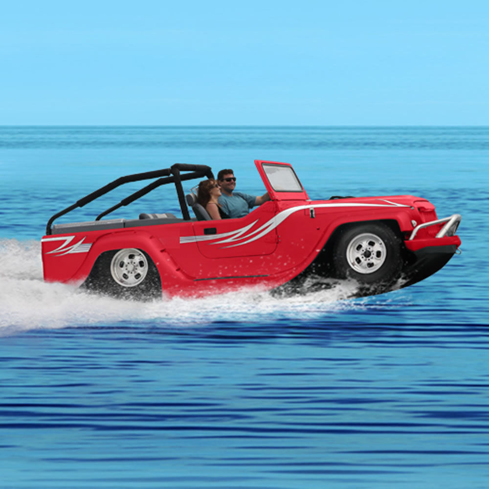 The World's Fastest Amphibious Car 5