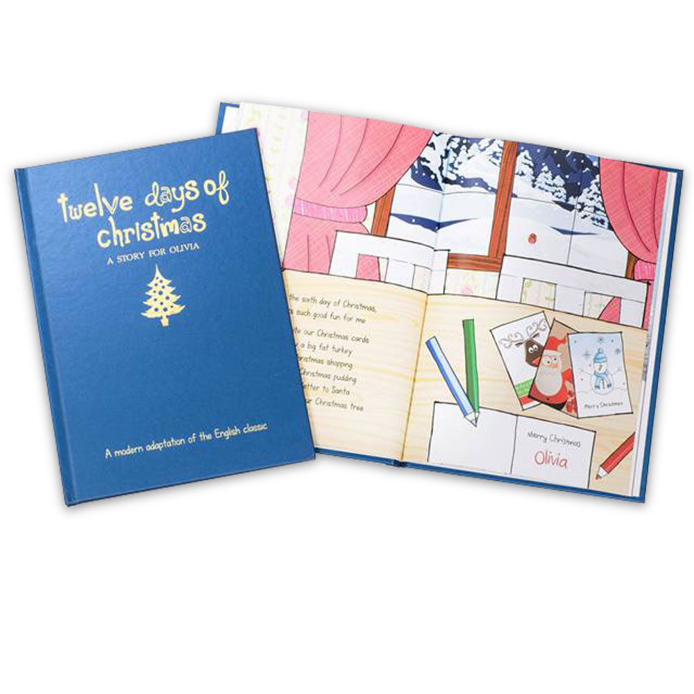 The Personalized Twelve Days of Christmas Book 2