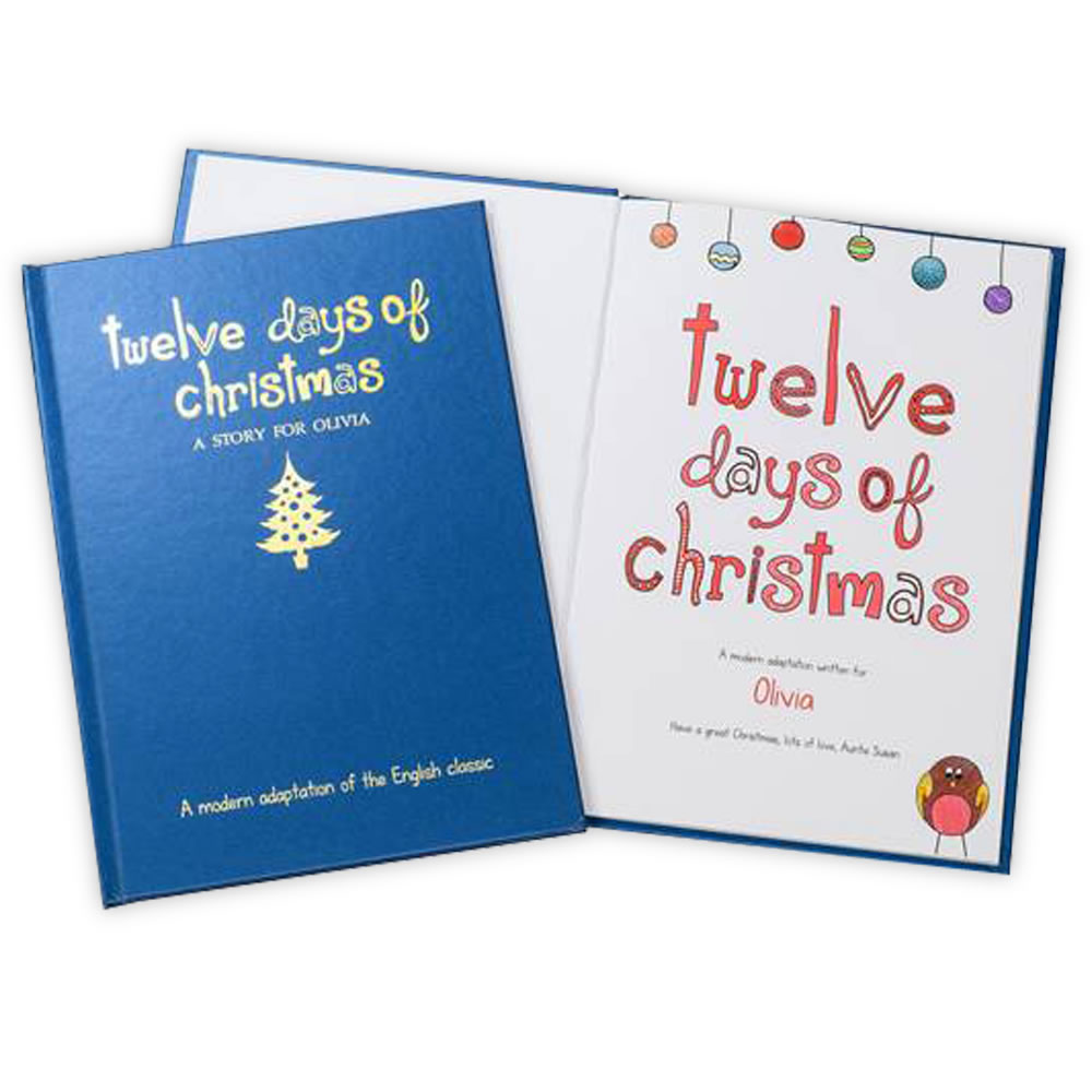 The Personalized Twelve Days of Christmas Book1