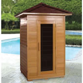 The Outdoor Infrared Sauna.