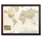 The Personalized Travel Map.