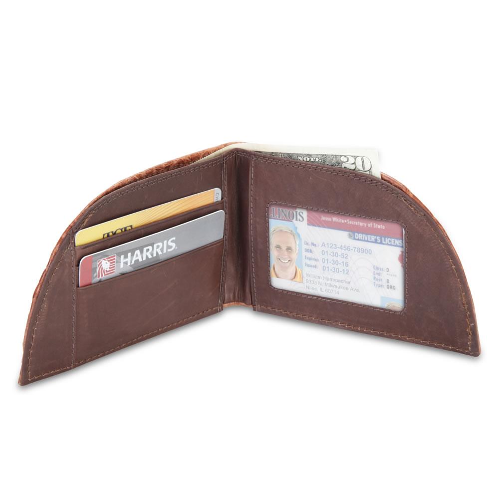 The Alligator Front Pocket Wallet 4
