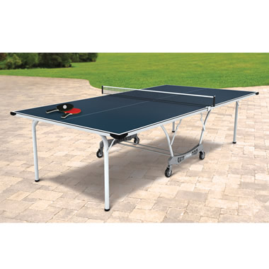 The Foldaway All Weather Tennis Table Court.