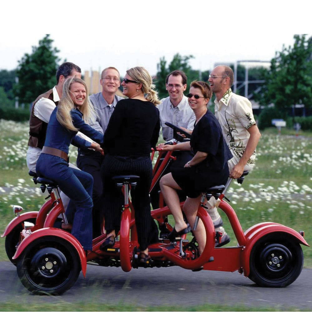The Only Seven Person Tricycle 2