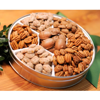 The Pearson Farm Holiday Pecan Tin.