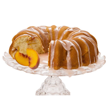 The Authentic Georgia Peaches and Cream Bundt Cake.