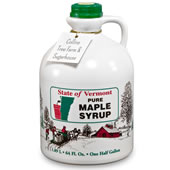 The Authentic Vermont Maple Syrup.