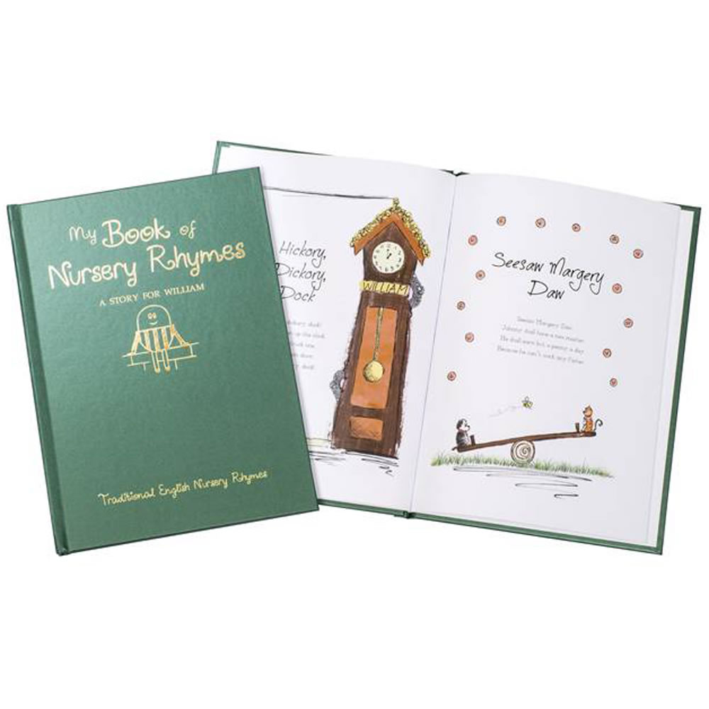 The Personalized Book Of Nursery Rhymes 2