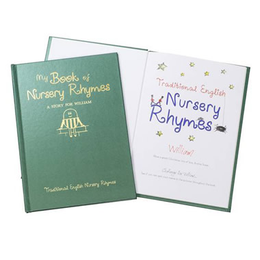 The Personalized Book Of Nursery Rhymes.