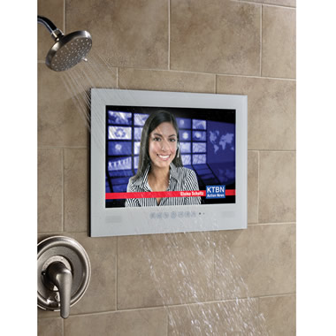 The Waterproof Outdoor/Indoor Television.