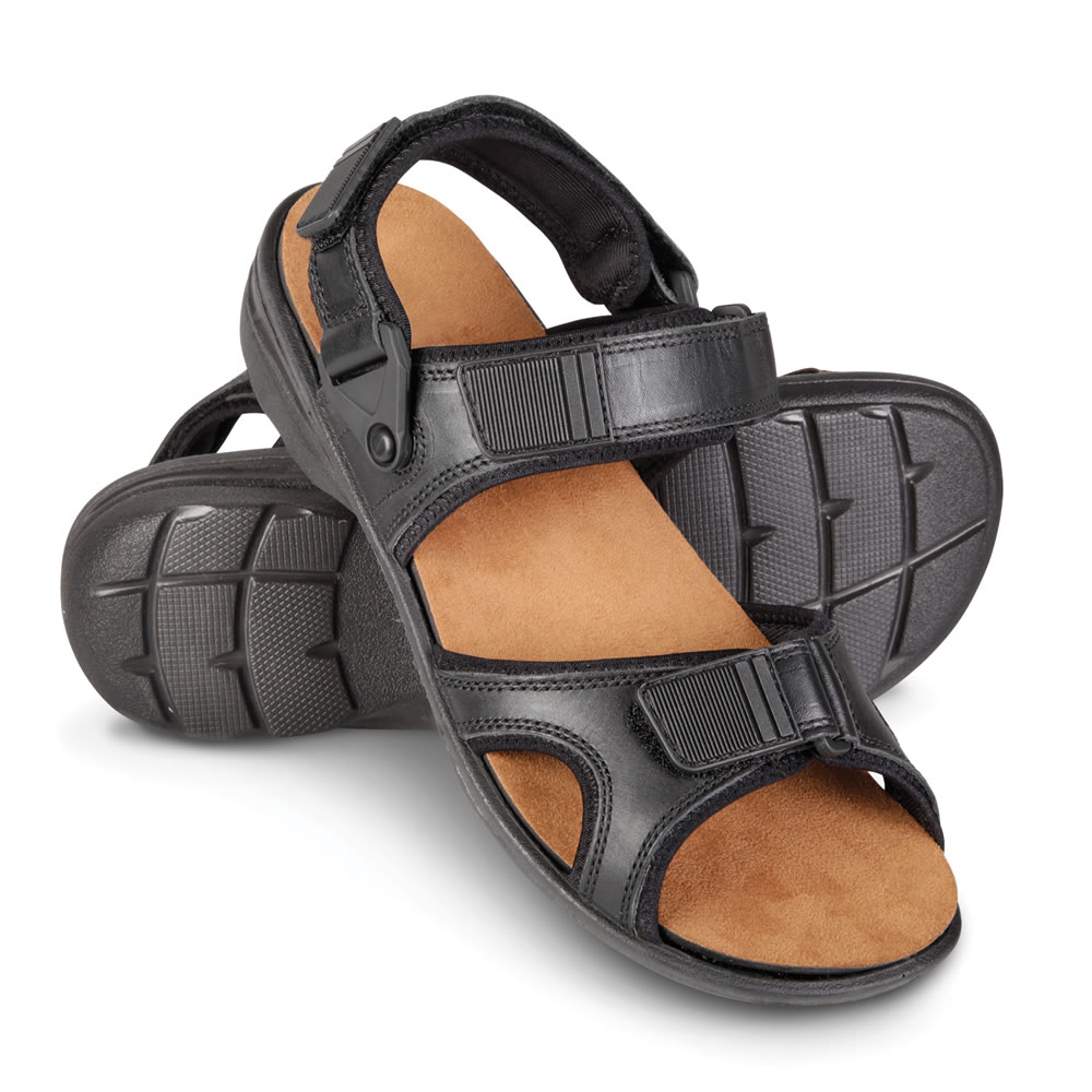 The Gentlemen's Shock Absorbing Sandal 3