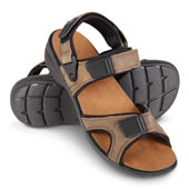 The Gentlemen's Shock Absorbing Sandal.