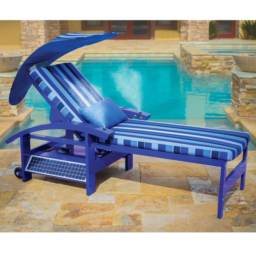 The Solar Powered Entertainment Lounger 1