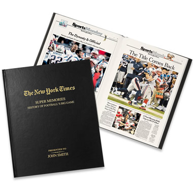 The New York Times Archives Of Football's Biggest Game.
