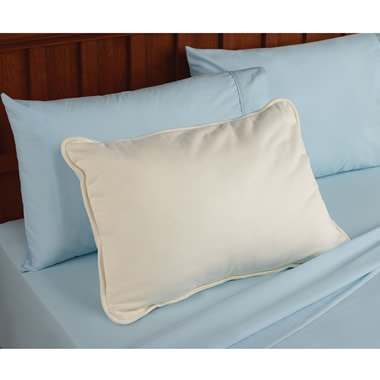 The Naturally Dust Mite Resistant Pillow (Light Fill)
