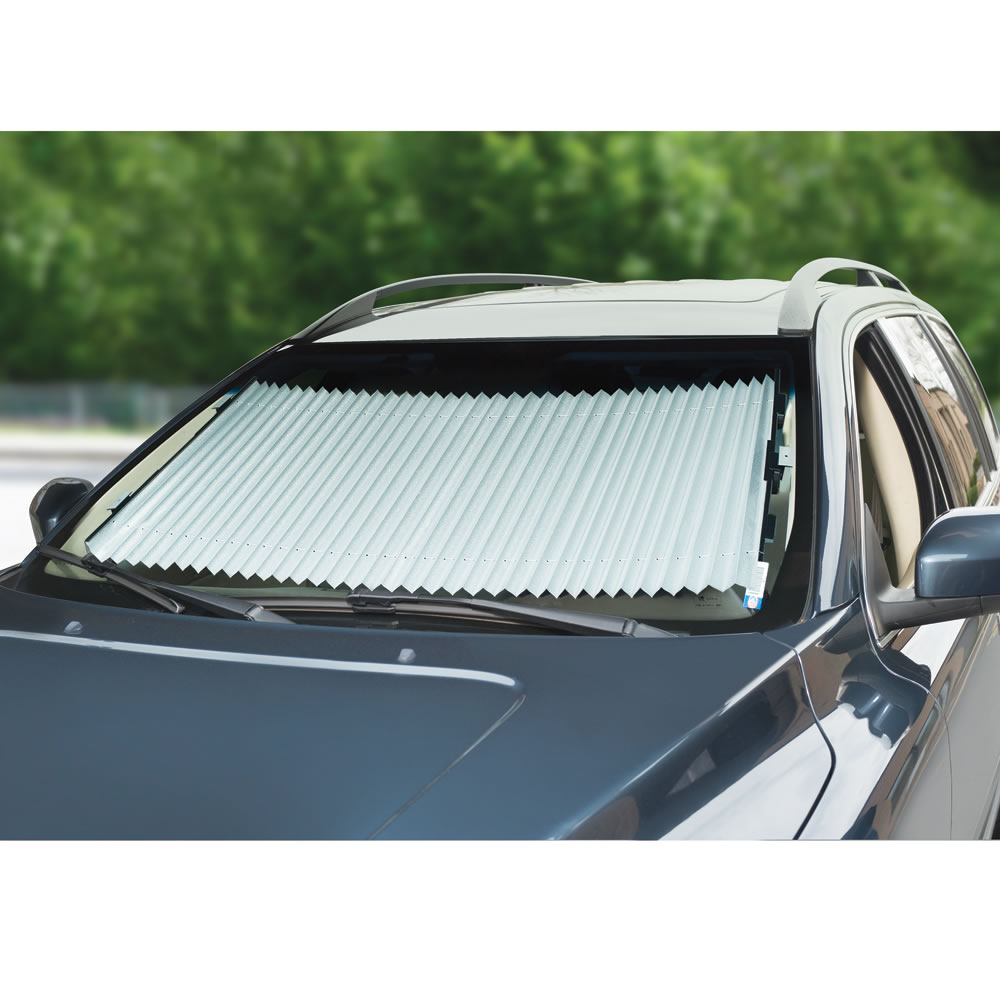 The Custom Retractable Windshield Shades 2