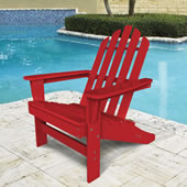 The Impervious Adirondack Chair Red.