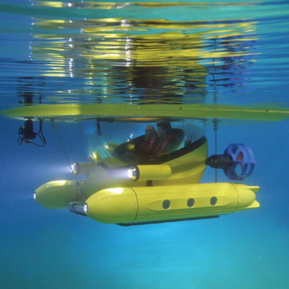 The Amphibious Sub-Surface Watercraft 2