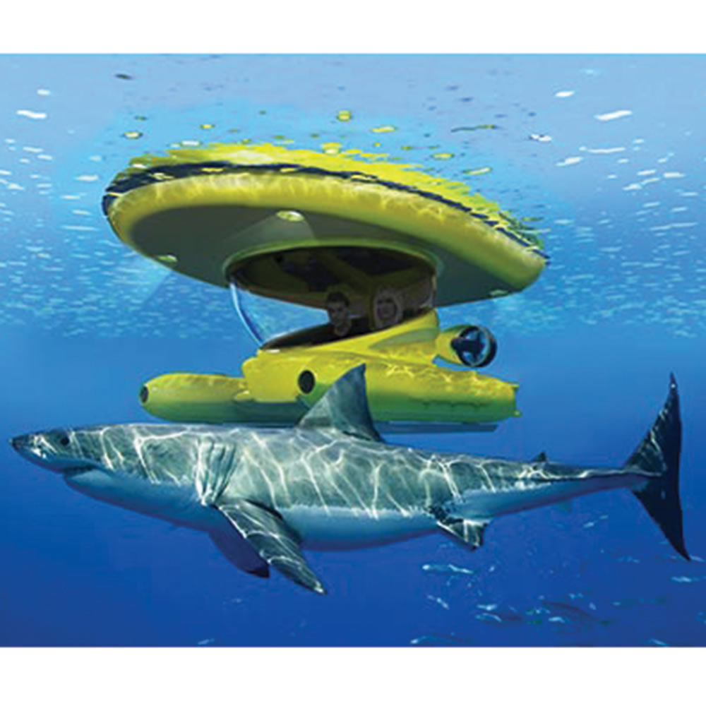 The Amphibious Sub-Surface Watercraft - Hammacher Schlemmer