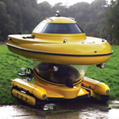 The Amphibious Sub-Surface Watercraft.