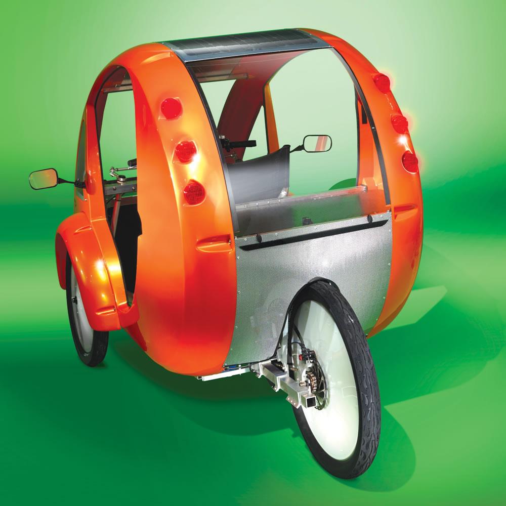 The Solar Velomobile 8