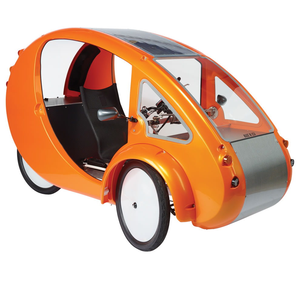 The Solar Velomobile 1
