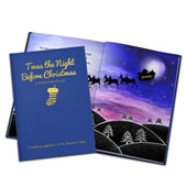 The Personalized Children's 'Twas the Night Before Christmas Book.