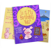 The Personalized Children's Birthday Book.
