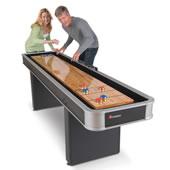 The Indoor Shuffleboard Table.