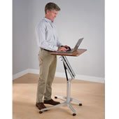 The Standing Or Sitting Workstation.
