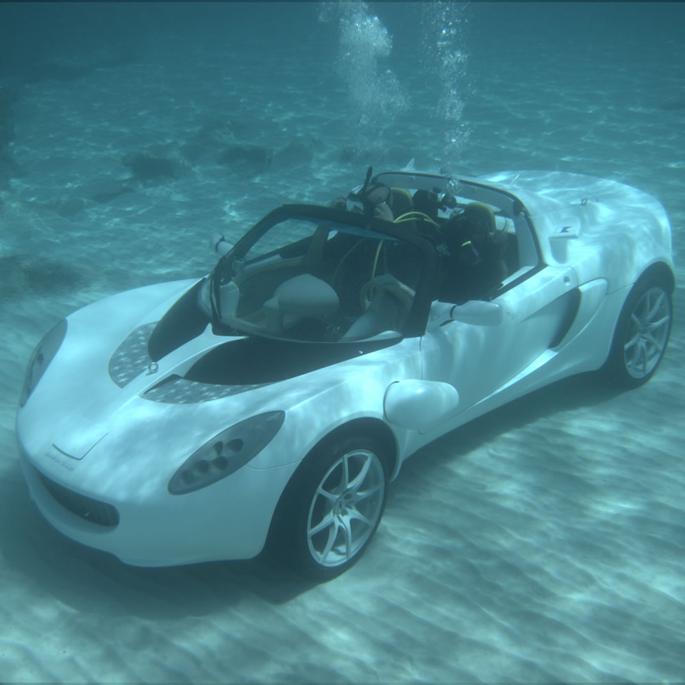 the submarine sports car