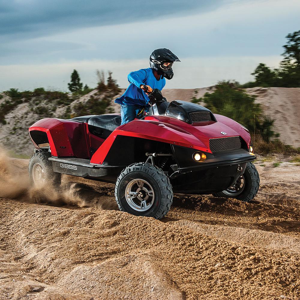 The Amphibious ATV2