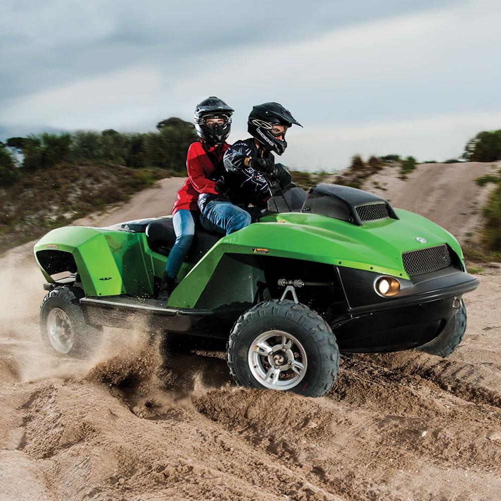 The Amphibious ATV3