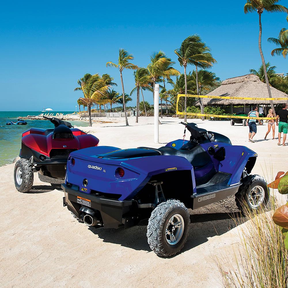 The Amphibious ATV5