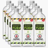 Twelve 1-Liter Smart Fuel Bottles