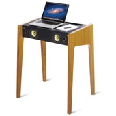 The Audiophile's Laptop Speaker Desk.