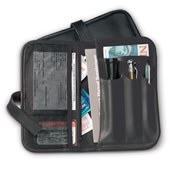 Gentlemens Automobile Organizer Black