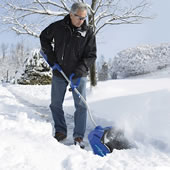 The Rechargeable Snow Shovel.